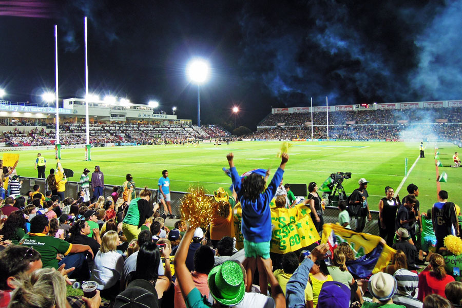 Townsville rugby goal