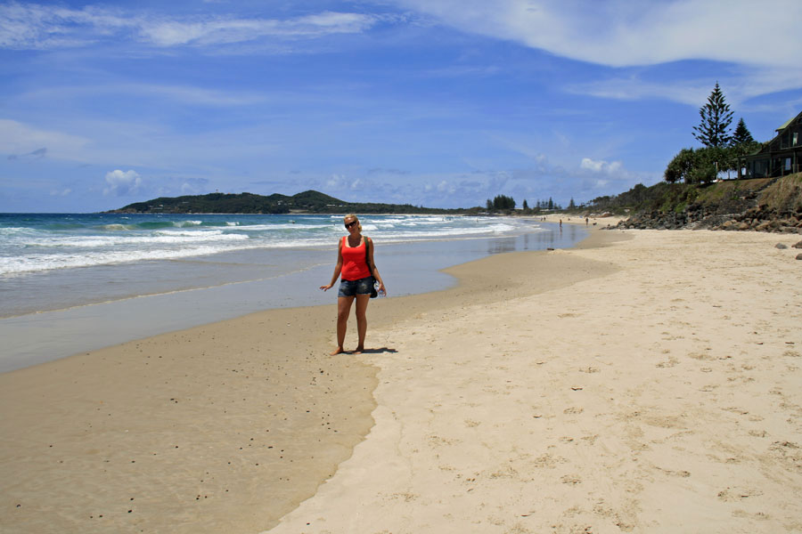 Byron Bay Belongil Beach